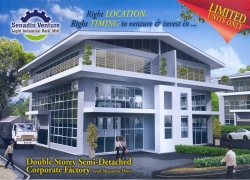 Senadin Venture - Double Storey Semi-Detached Corporate Factory